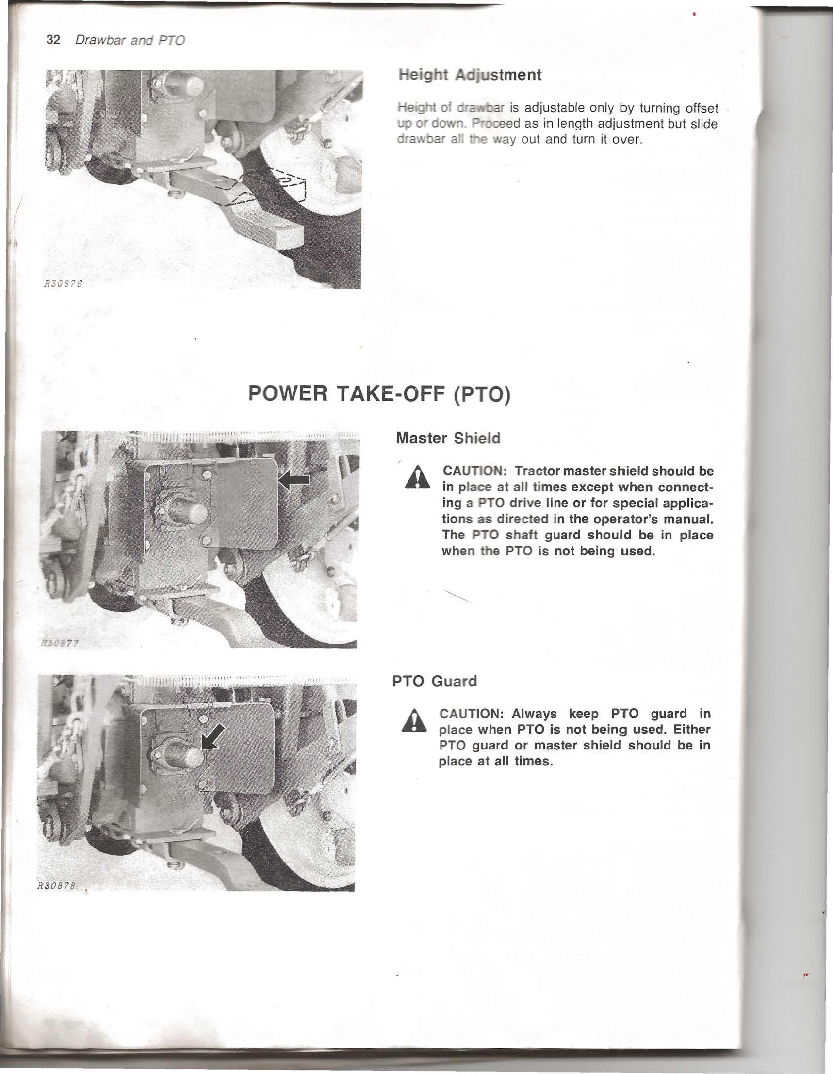 ... John Deere 950 Operator's Manual