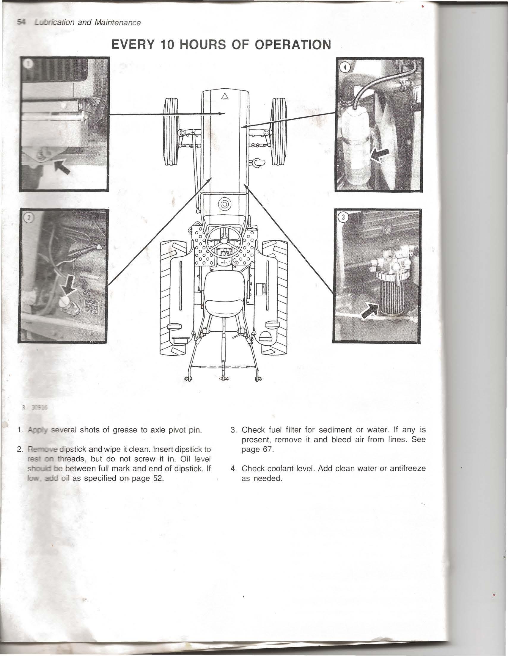 John Deere 950 Operators Manual